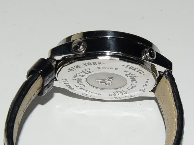 Jacob & Co Stainless Steel Gents World Time Wristwatch, boxed. - Image 4 of 7