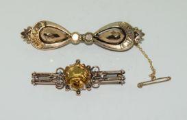 2 Victorian Brooches. (NI006)
