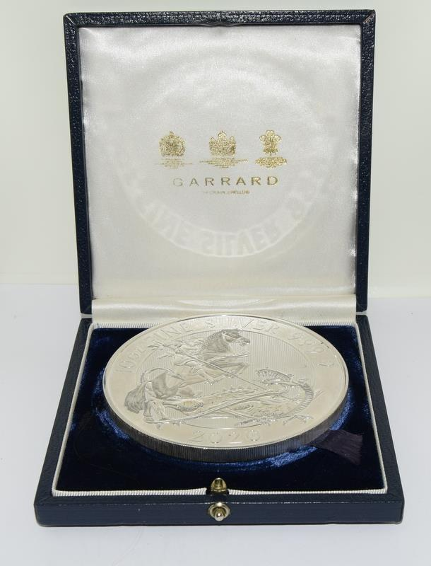 10oz Silver 999.9 Coin, Boxed - Image 2 of 12