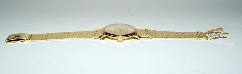 9ct Gold Rolex Precision wristwatch on original Rolex Gold bracelet. - Image 3 of 8