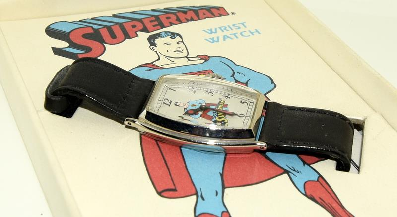 Superman Limited Edition wristwatch (based on the original 1939) by DC Comics. - Image 4 of 4