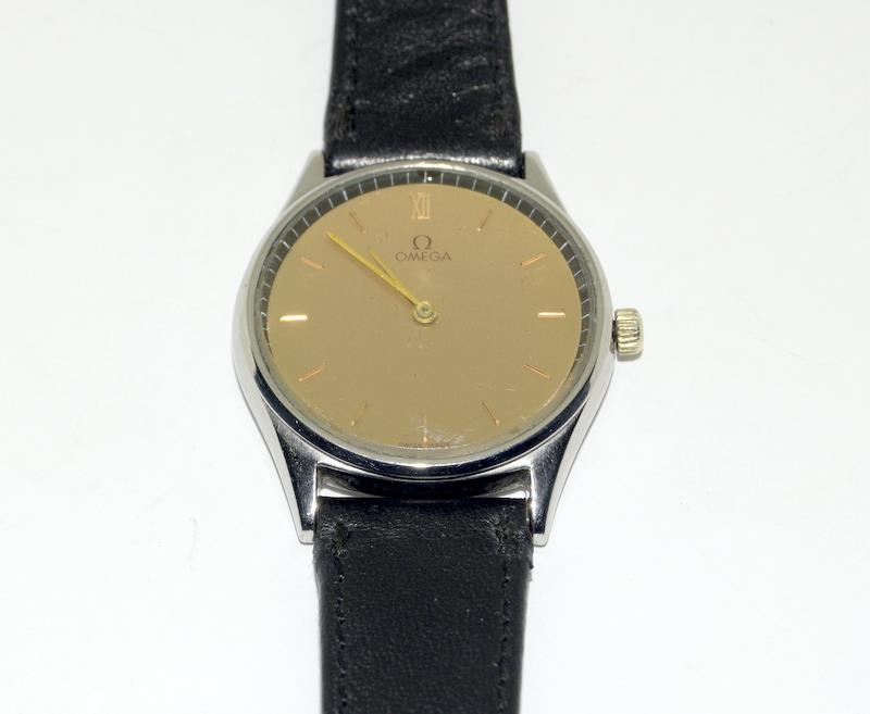 Stainless Steel Vintage Omega Manual Wind CAL G25 Watch - Image 7 of 8