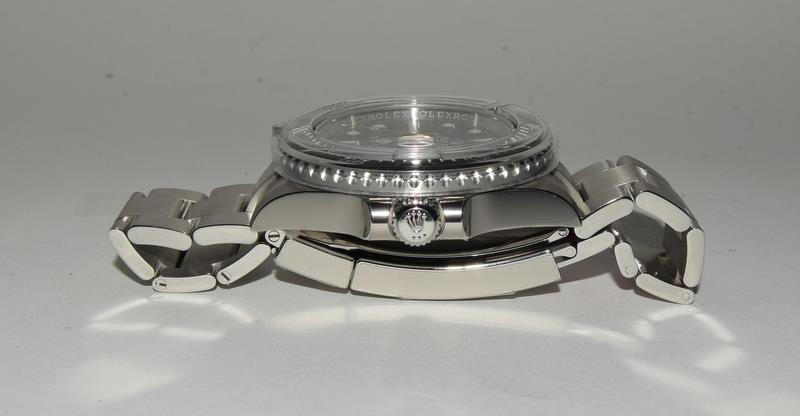 Rolex Anniversary single Red Sea-Dweller Wristwatch, boxed. - Image 4 of 7