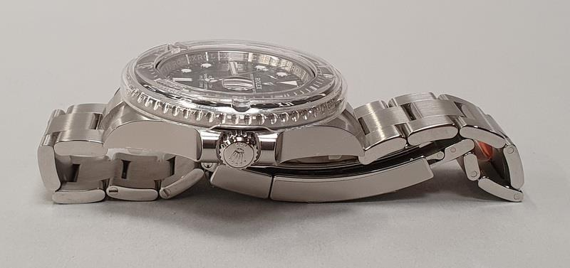 Rolex Anniversary Red Sea Dweller, boxed and papers, unworn with stickers. - Image 5 of 10