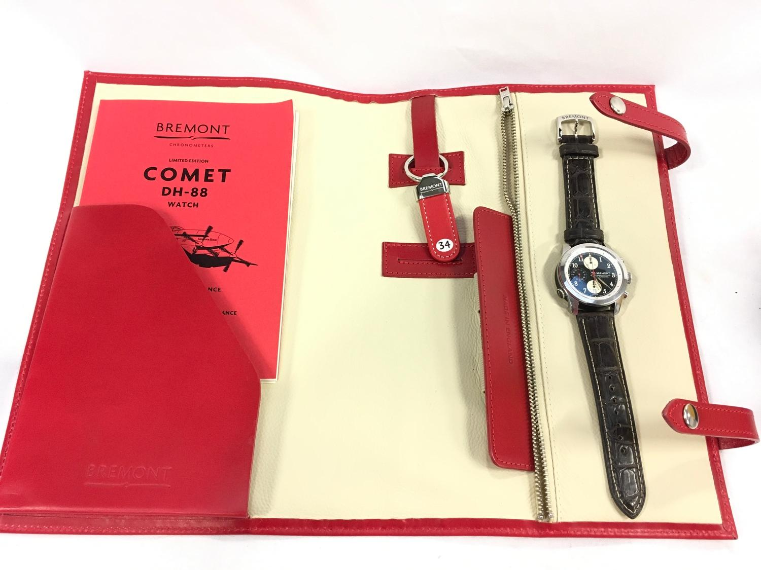 Bremont Stainless Steel gents watch, DH-88 Comet Limited Edition. - Image 2 of 11