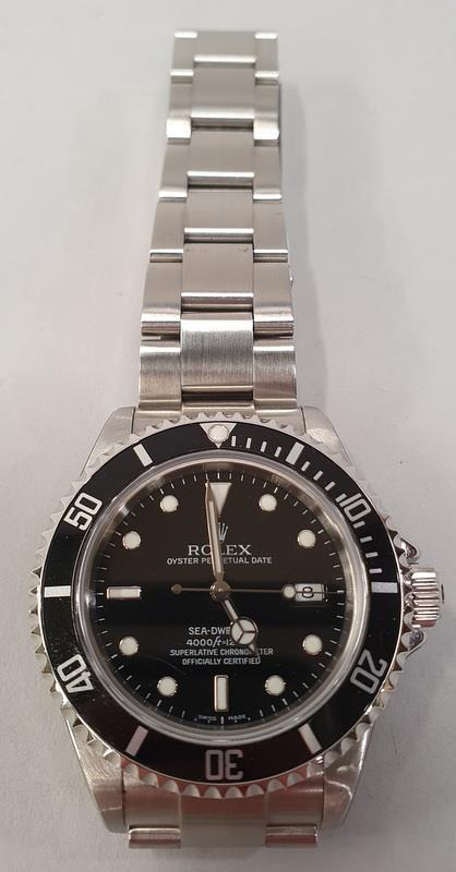 Rolex Sea-Dweller Watch 16600, box & papers, dated 2006. - Image 2 of 11