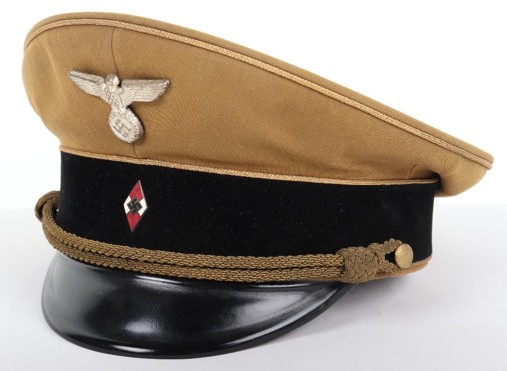Lot 53 - Third Reich Hitler Youth Generals Peaked Cap