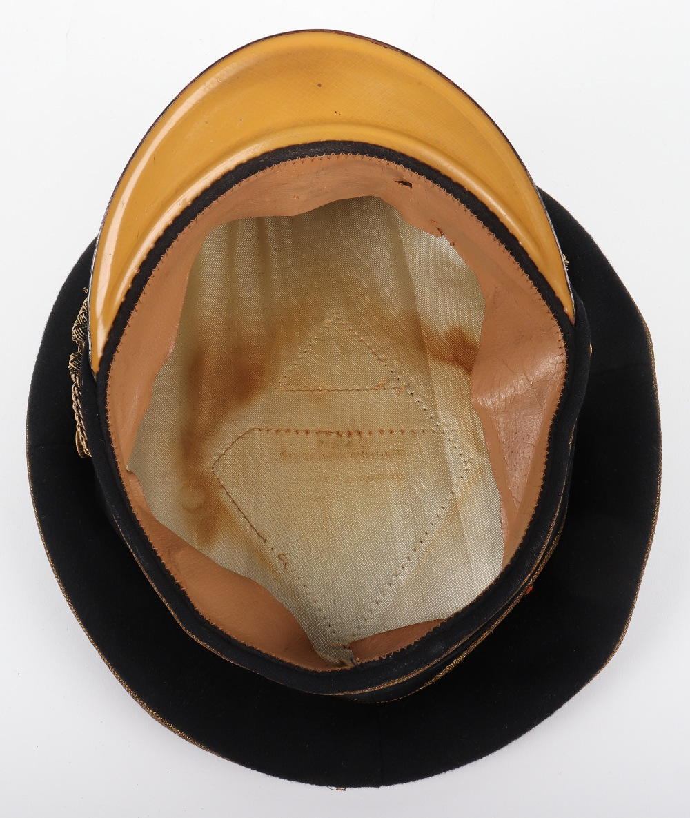 Lot 7 - Third Reich Prussian Officials High Leaders Peaked Cap