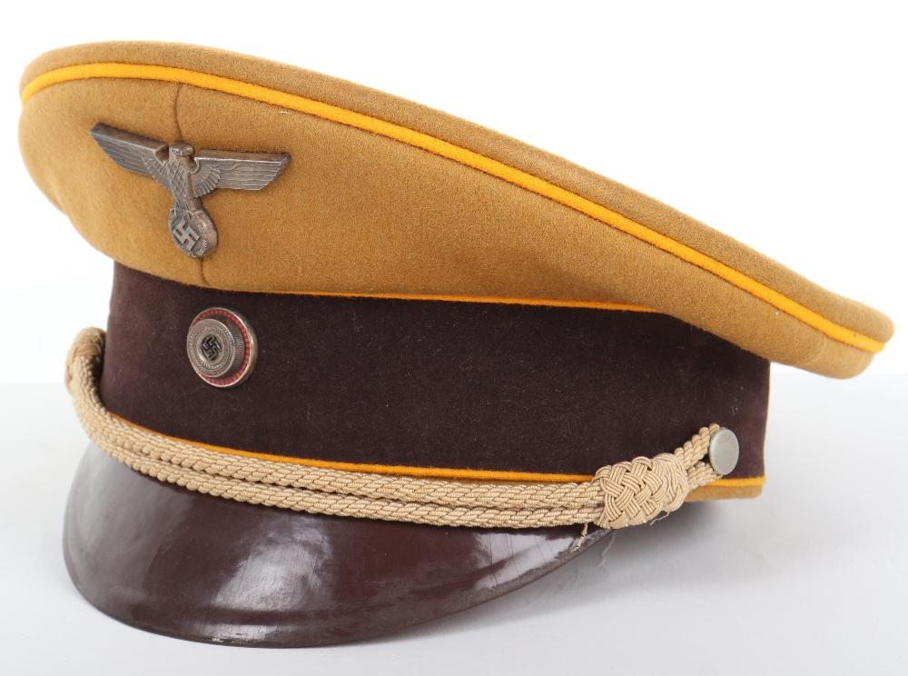 Lot 16 - Third Reich NSDAP Ordensburgen Peaked Cap