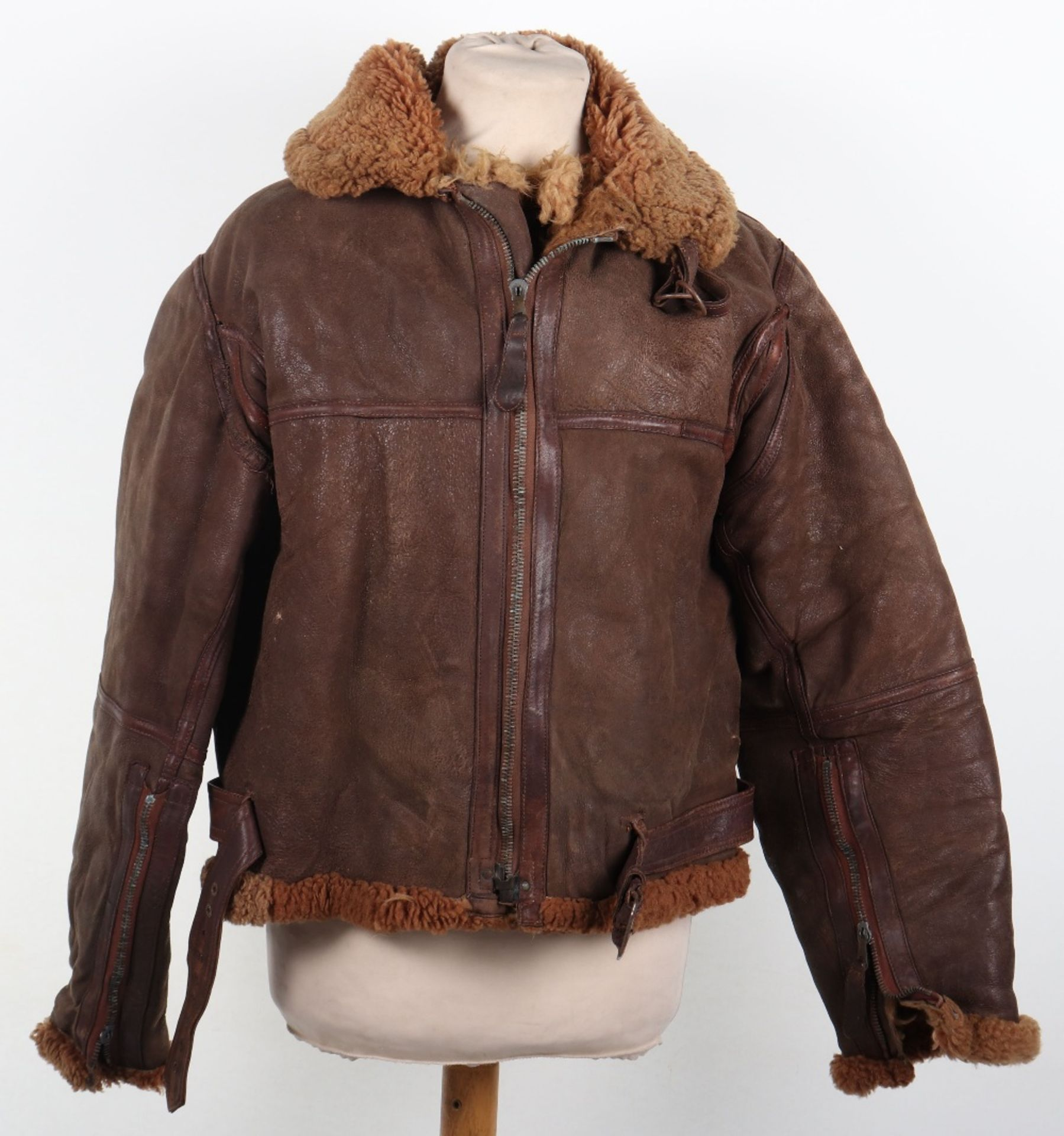 Los 753 - WW2 Royal Air Force Irvin Flying Jacket and Trousers