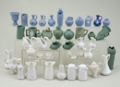 Collection of miniature Stoneware,