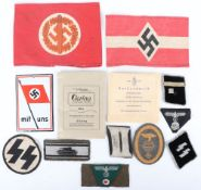 WW2 Style German Badges and Militaria