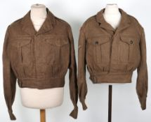 British Battle Dress Blouses