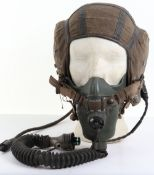 Post-WW2 Royal Air Force G-Type Flying Helmet and Oxygen Mask Set