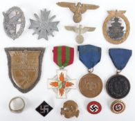 WW2 Style German Medals and Badges