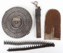 Machine Gunners Glove and Magazines