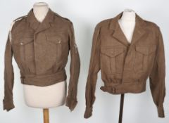 British Royal Artillery Army Cadet Force Battle Dress Blouse