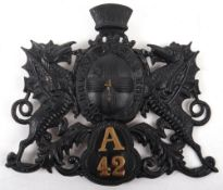 Obsolete City of London Police (1909 to 1970) Helmet plate