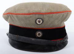 WW1 German M-1910 Officers Field Cap for Aviation, Technical & Artillery Regiments