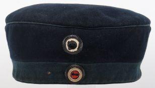 Pre-WW1 Imperial German Other Ranks Feldmutze / Kratzchen Garde Train Battalion