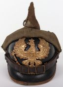 German Infantry Regiment Nr 95 (6.Thuringisches) Other Ranks Pickelhaube with Field Cover