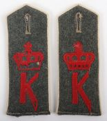 Matched Pair of WW1 German Infanterie-Regiment (2. Nassauisches) Infanterie-Regiment Nr 88 M-15 Shou