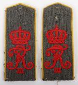 Matched Pair of Private Purchase WW1 German Grenadier-Regiment Konig Friedrich III (Schlesisches) Nr