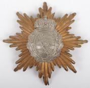 WW1 German Saxon Other Ranks Pickelhaube Helmet Plate