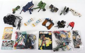 Quantity of Vintage Action force/G.I. Joe figures and vehicles