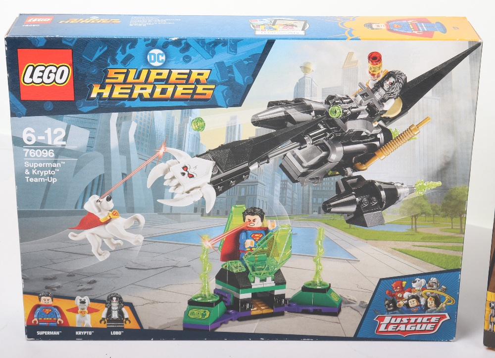 Three DC super heroes boxed Lego sets - Image 2 of 6