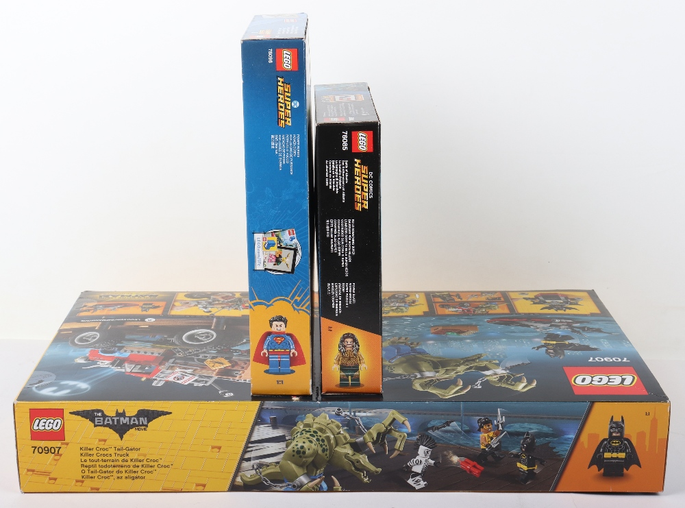 Three DC super heroes boxed Lego sets - Image 6 of 6
