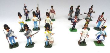 Napoleonic Models by Ken Kearton and others
