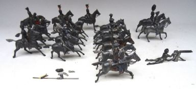 Britains Cavalry castings