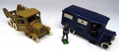 Britains repainted Vehicles