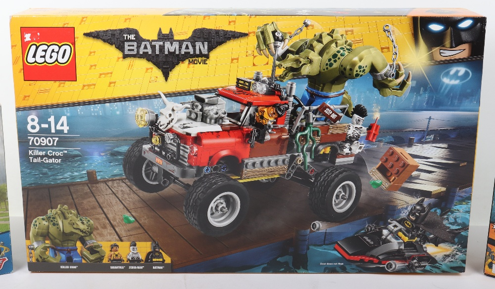 Three DC super heroes boxed Lego sets - Image 3 of 6
