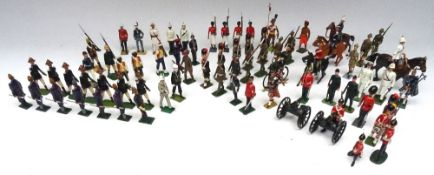 Britains and other makers British and Colonial Troops