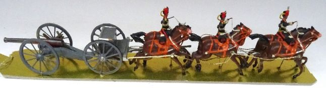 Britains from set 39, Royal Horse Artillery