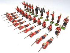 Britains set 89, Cameron Highlanders firing