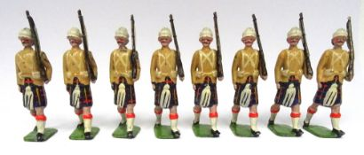 Britains set 114, Cameron Highlanders