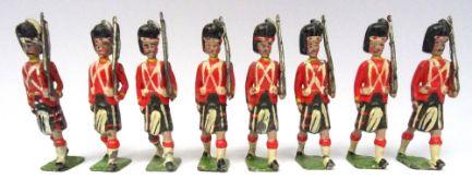 Britains set 112, Seaforth Highlanders