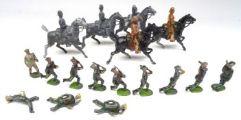 Britains repaired 6th Dragoons from set 108