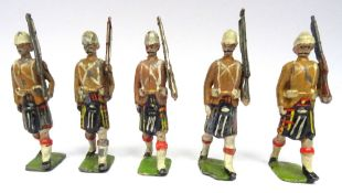 Britains from set 114, Cameron Highlanders