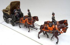 Britains set 145, Royal Army Medical Corps four-horse Ambulance Wagon
