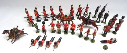 Britains various early Infantry