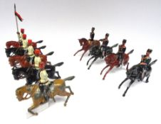 Britains from set 115, Egyptian Cavalry