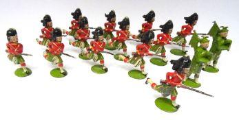 Britains set 88, Seaforth Highlanders charging