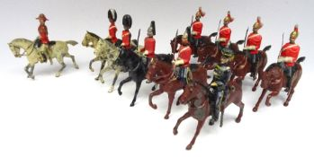 RARE Britains 3rd Hussar on 'Scots Grey' horse