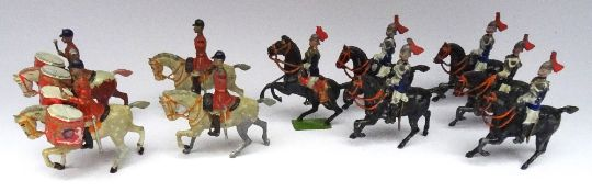 Britains early Drum Horse
