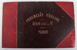 Ornements D'Eglise Biais Aine & Co Fournisseur de N.S.P Le Pape, Paris. Published c.1900