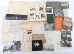 Interesting Collection to RAF Flight Lieut, later Squadron Leader, J.T.Hutton